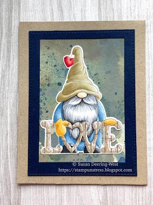 gnome rustic loveletters